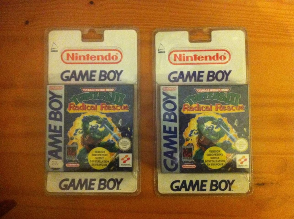 Collection Blisters Rigides Game Boy 51193910