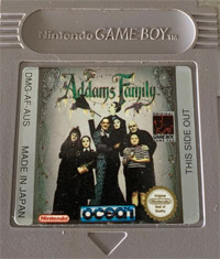 Jeux Gameboy : cartouches, variantes, anecdotes - Page 2 Addams10