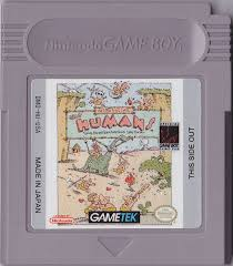 Jeux Gameboy : cartouches, variantes, anecdotes Humans11