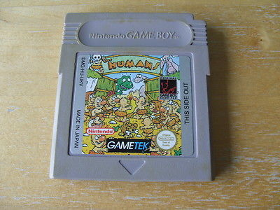 Jeux Gameboy : cartouches, variantes, anecdotes Humans12