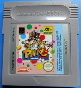 Jeux Gameboy : cartouches, variantes, anecdotes Pang-b10