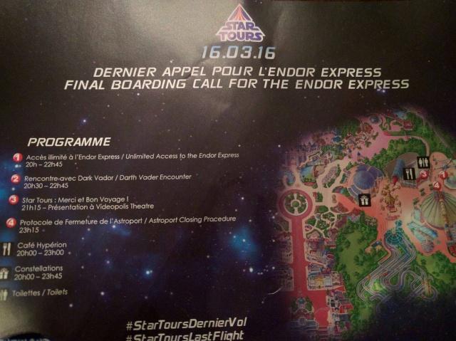 [Soirée spéciale] Ultime voyage de Star Tours vers la Lune d'Endor (le 16 mars 2016) - Page 7 Dfed8610