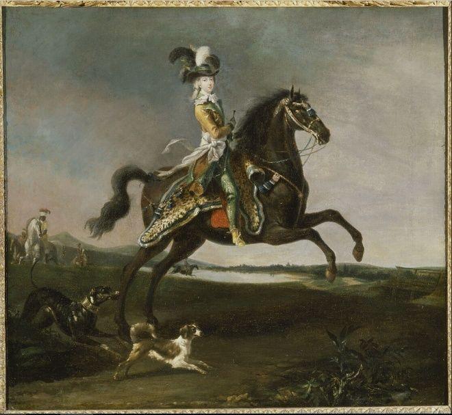 Exposition Louis-Auguste Brun, peintre de Marie-Antoinette  Brun110