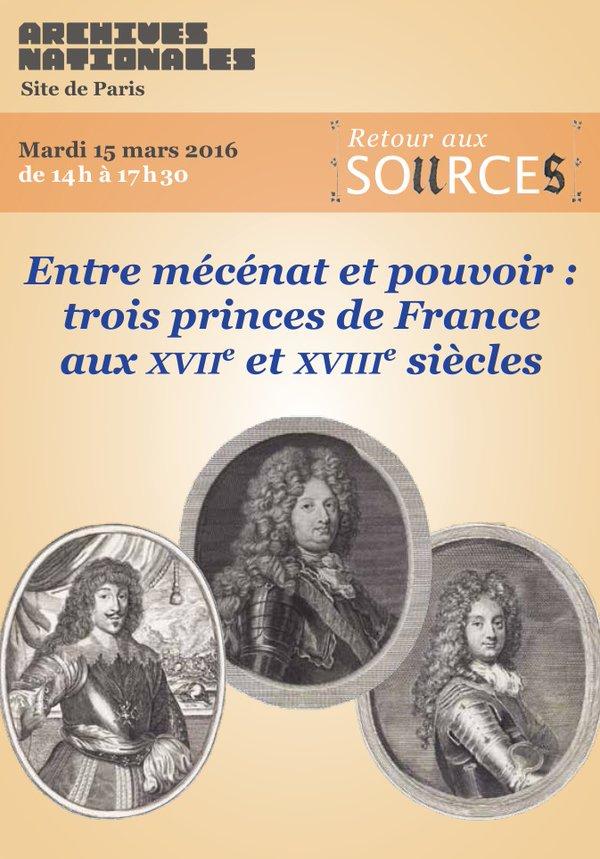 Entre mécénat et pouvoir : trois princes de France  Cdhvhg10