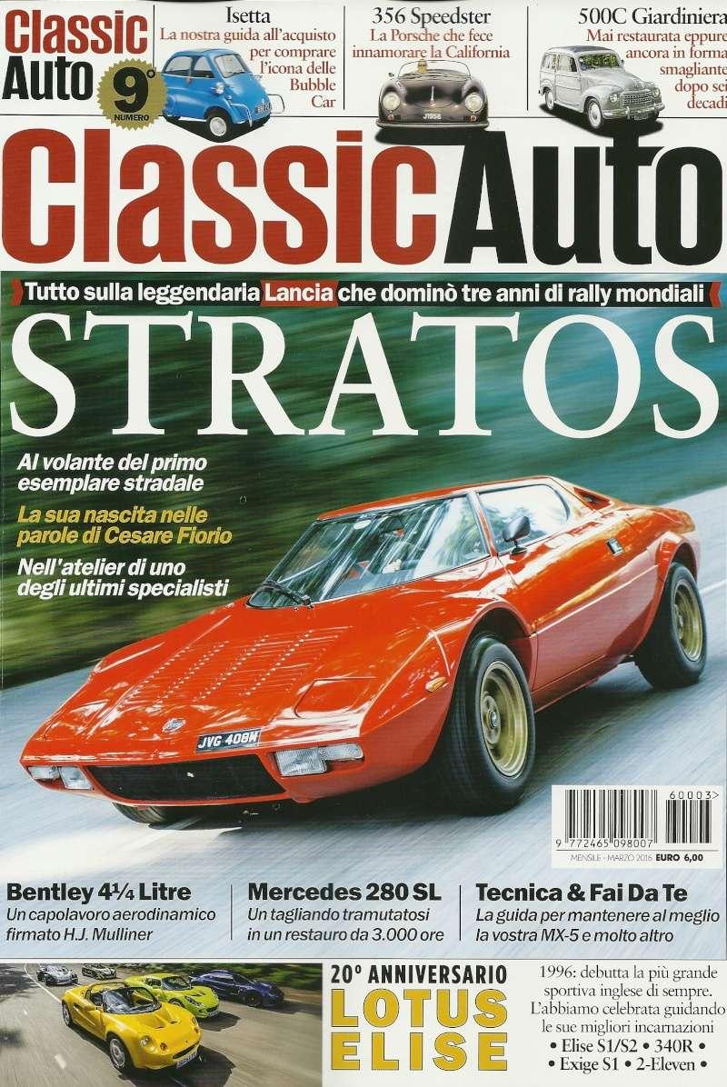 Classic auto in italiano Classi10