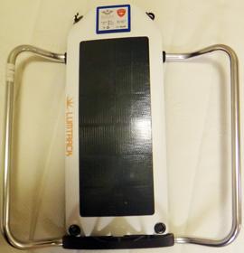 Panneau solaire pour un vélo Brompton Lumtra10