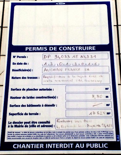 Auchan - Requalification de la facade Nord Img_2010