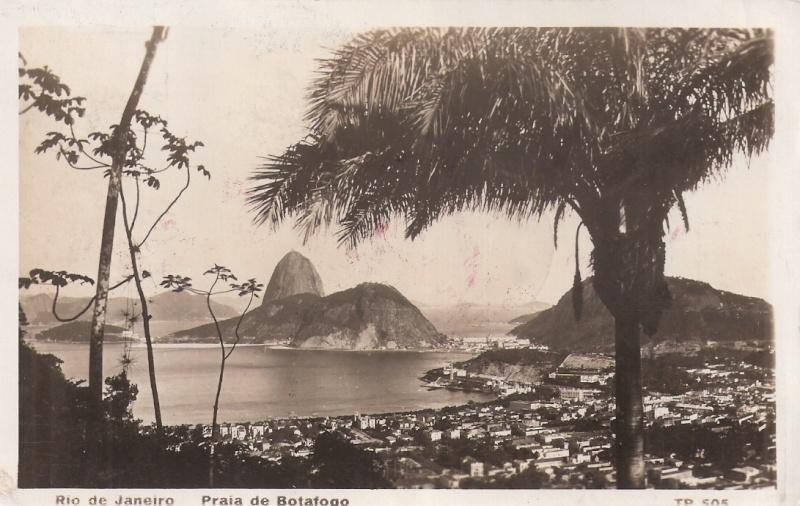 """nach - Südamerikafahrt 1930 (Rundfahrt-) Post nach Friedrichshafen"""" - Seite 6 Rio_st11"""