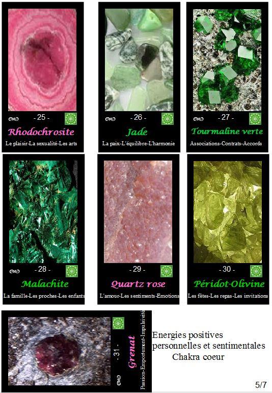 L'oracle énergétique des pierres Coeur10