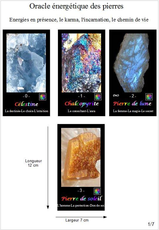 L'oracle énergétique des pierres Energi10