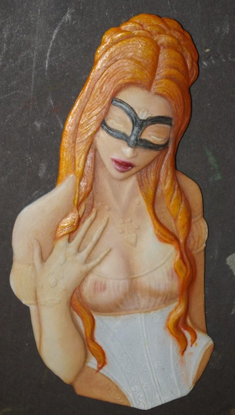 buste féminin  Rousse10