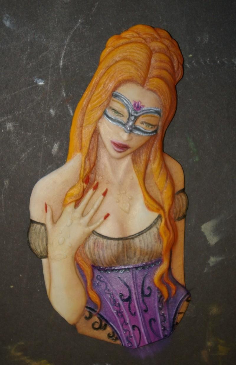buste féminin  Rousse14