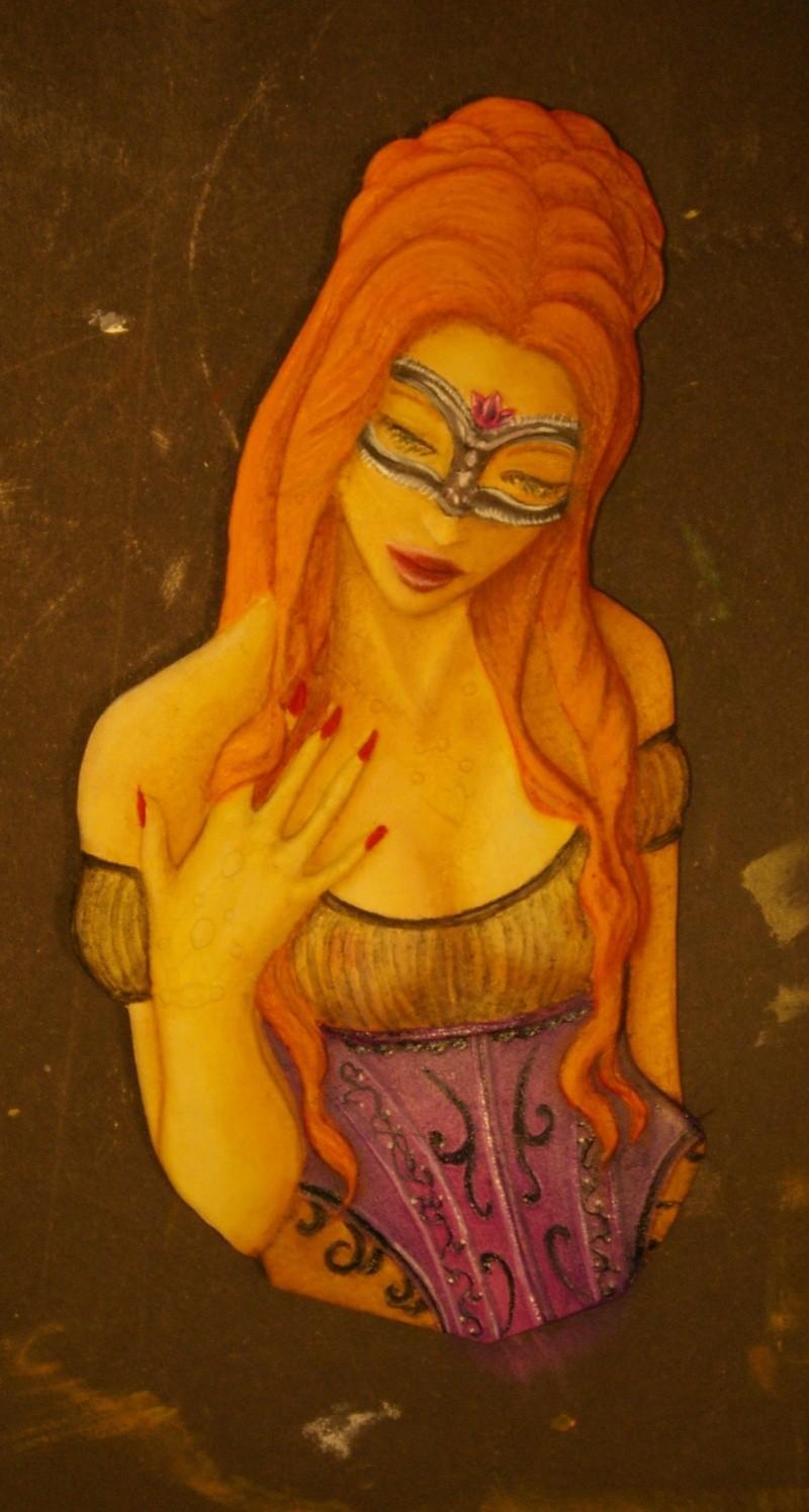 buste féminin  Rousse15