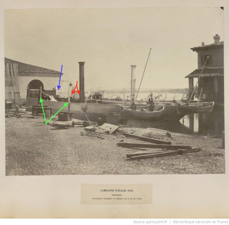 Chaloupe canonnière 1858 - 1:75 Scialu10