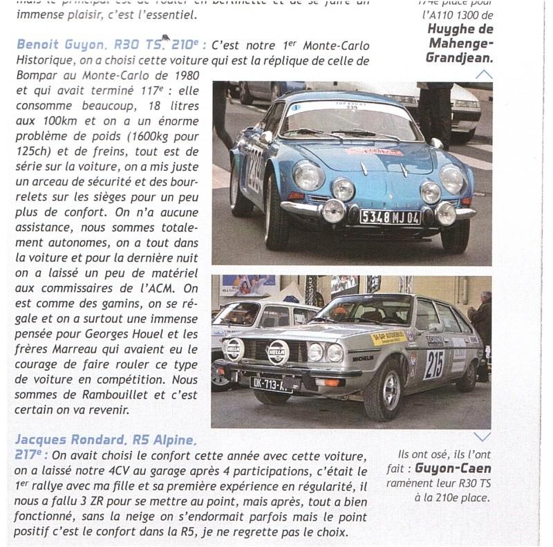 Rallye Monte Carlo Historique 2016 - Benoît/Stéphane - Page 17 Mag_1010