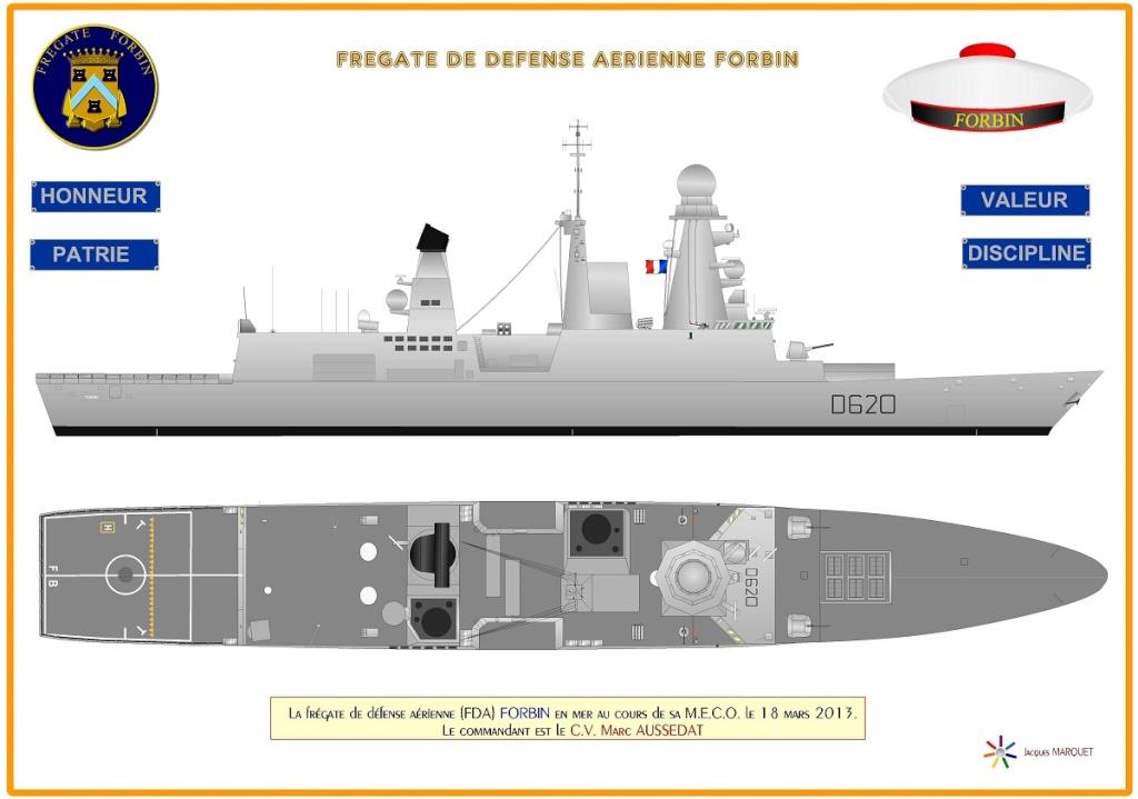 Frégate Forbin classe Horizon Frygat11