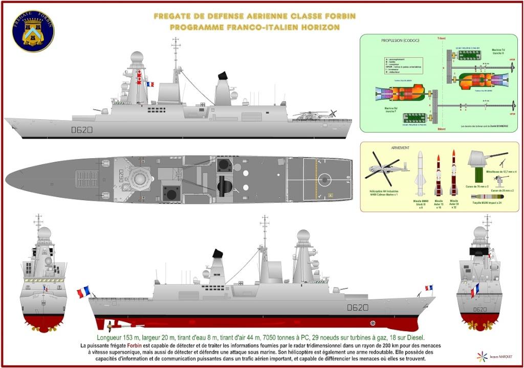 Frégate Forbin classe Horizon Frygat13