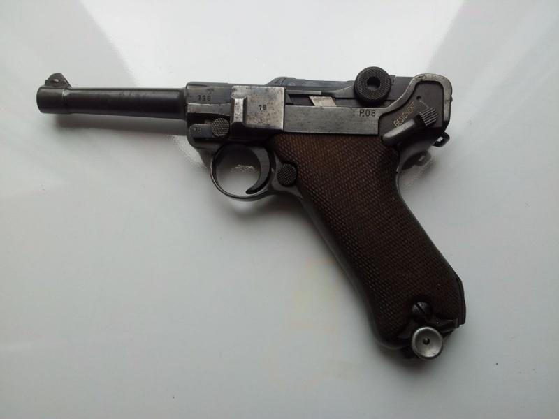 Réflexions sur la production de pistolets Luger P 08, par Mauser, en 1945-1946. - Page 3 11810