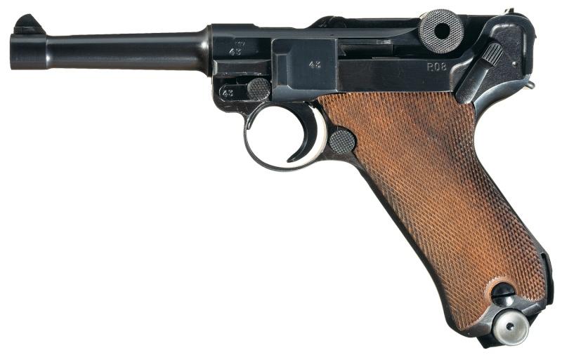 Réflexions sur la production de pistolets Luger P 08, par Mauser, en 1945-1946. - Page 3 Aa10