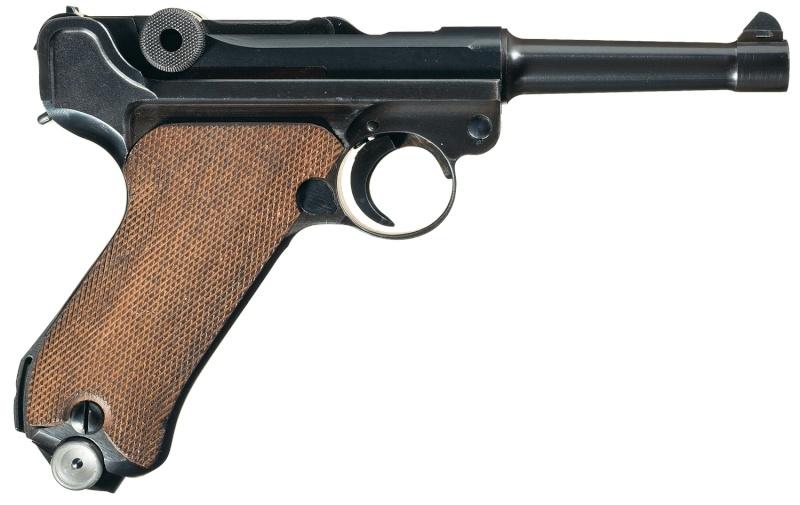 Réflexions sur la production de pistolets Luger P 08, par Mauser, en 1945-1946. - Page 3 Ab10