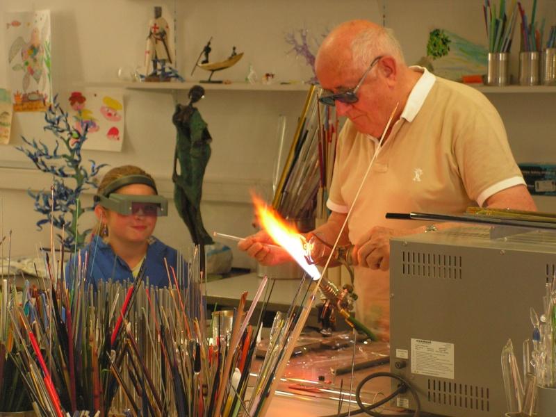 Stages pour apprendre la verrerie sculptée au chalumeau Pict0210