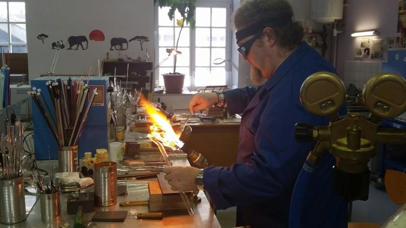 Stages pour apprendre la verrerie sculptée au chalumeau V_6a9210