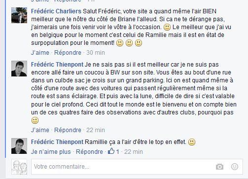 site de Ramillies Captur10