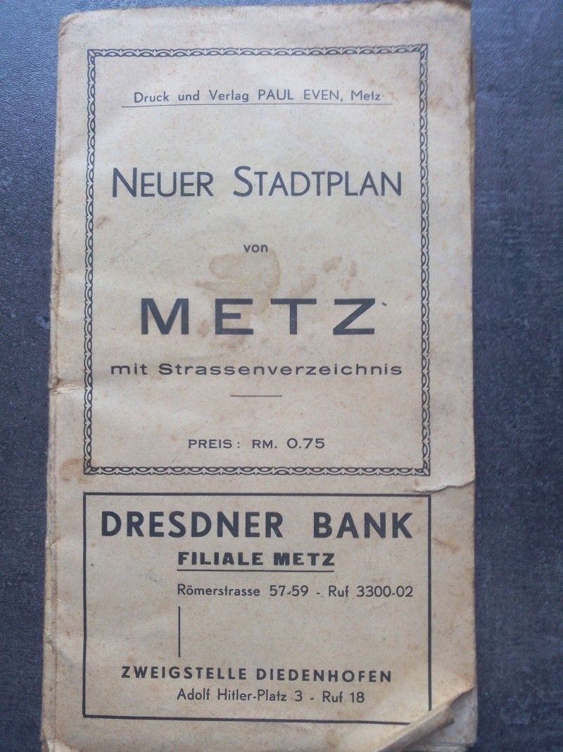 Carte de Metz sous l'occupation Allemande  Img_2011
