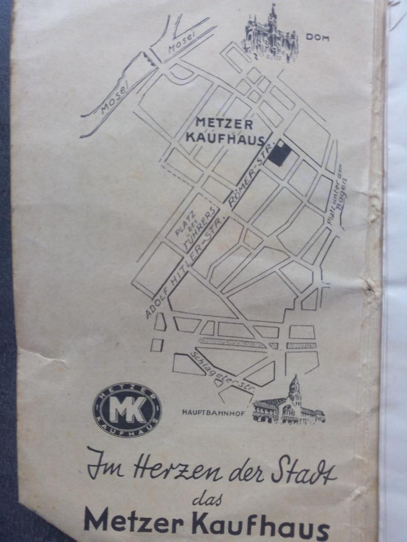Carte de Metz sous l'occupation Allemande  Img_2012