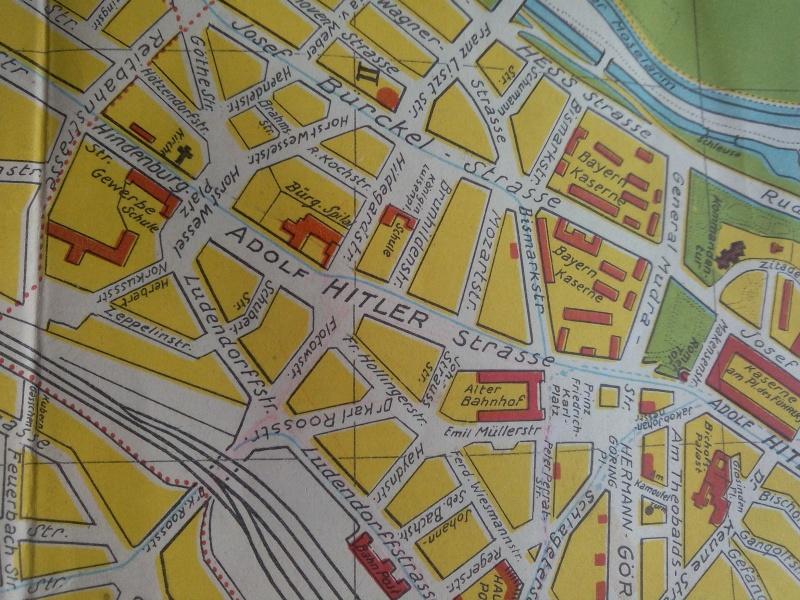 Carte de Metz sous l'occupation Allemande  Img_2014
