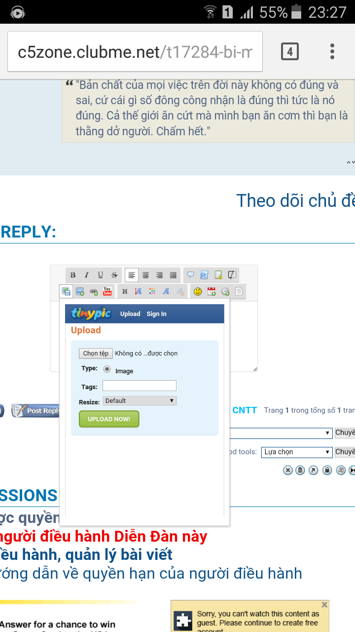 SERVIMG: Drag & Drop + Multiupload are now available for Forumotion forums ! Screen11