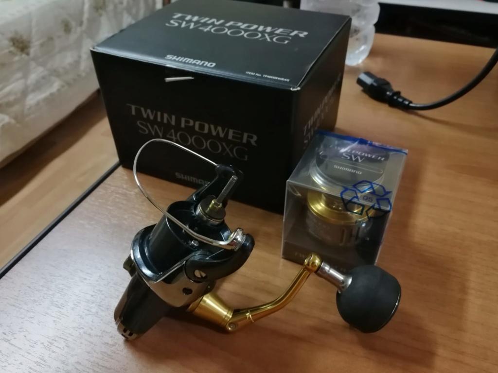 [Vendo][usato]shimano twin power 4000 swb Whatsa11