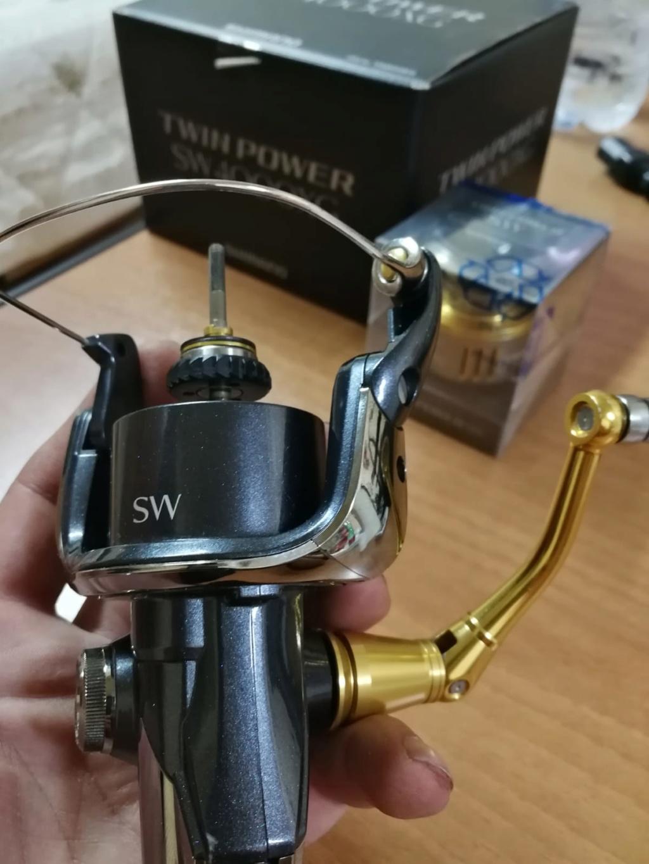 [Vendo][usato]shimano twin power 4000 swb Whatsa12