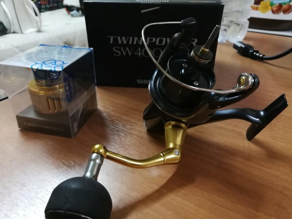 [Vendo][usato]shimano twin power 4000 swb Whatsa16