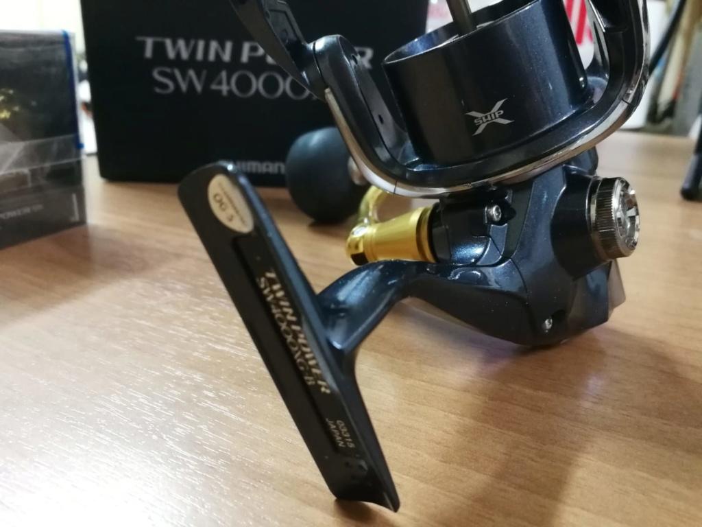 [Vendo][usato]shimano twin power 4000 swb Whatsa17
