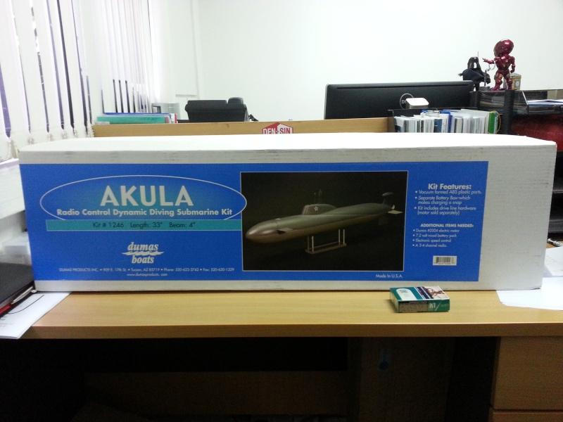RC Submarine: Russian Akula Class  20160210