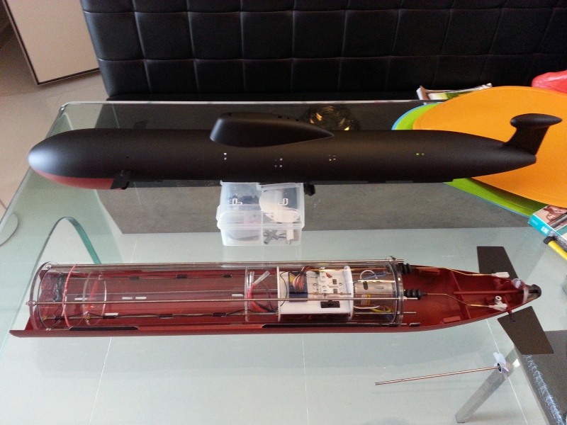 RC Submarine: Russian Akula Class  20160324