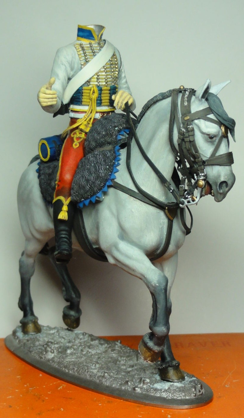 Trompette de Hussards Jérôme Napoléon Poste Militaire Dsc07016