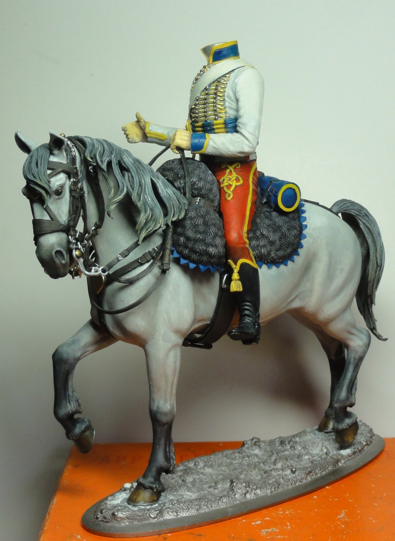 Trompette de Hussards Jérôme Napoléon Poste Militaire Dsc07017