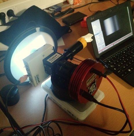 Comparatif ecran à flat Aurora / EL Backlight Spectr10