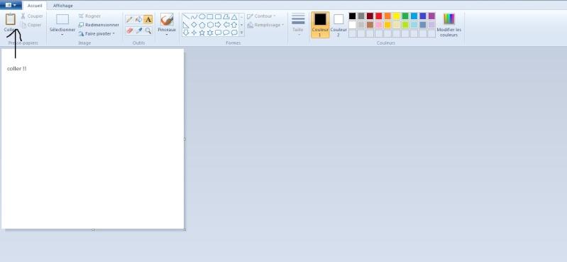faire un screen (impr écran) et mettre une image sur le forum Screen12