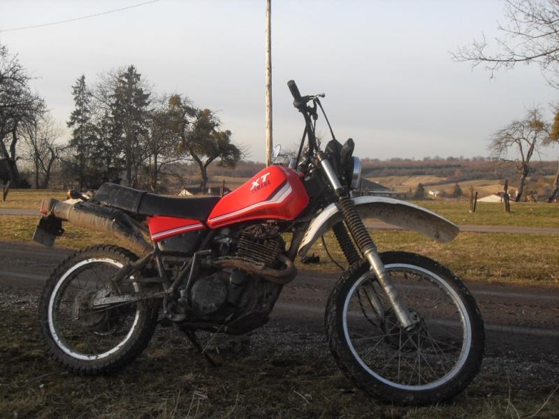 Présentation Yamaha xt 400 1983 3_7710