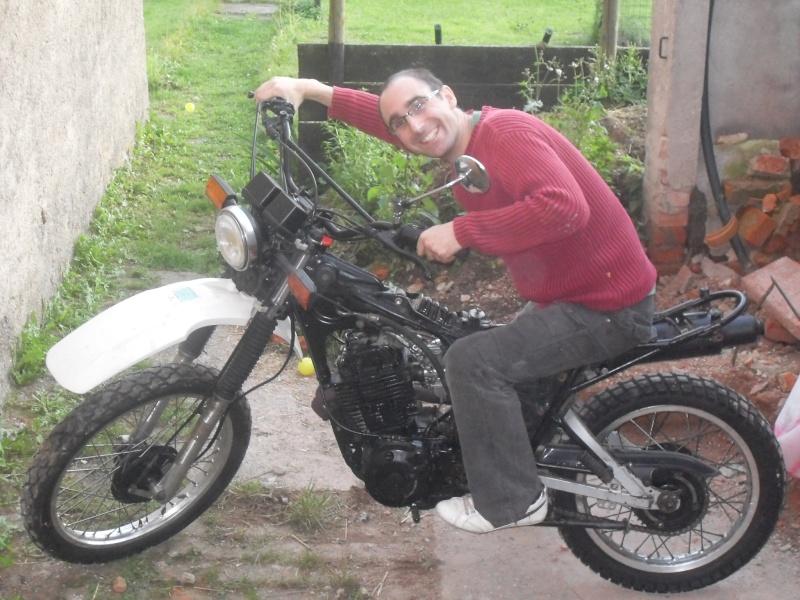 Présentation Yamaha xt 400 1983 4410