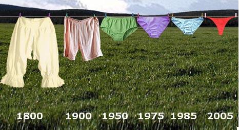 Cent ans de la fête du slip !. Culott10