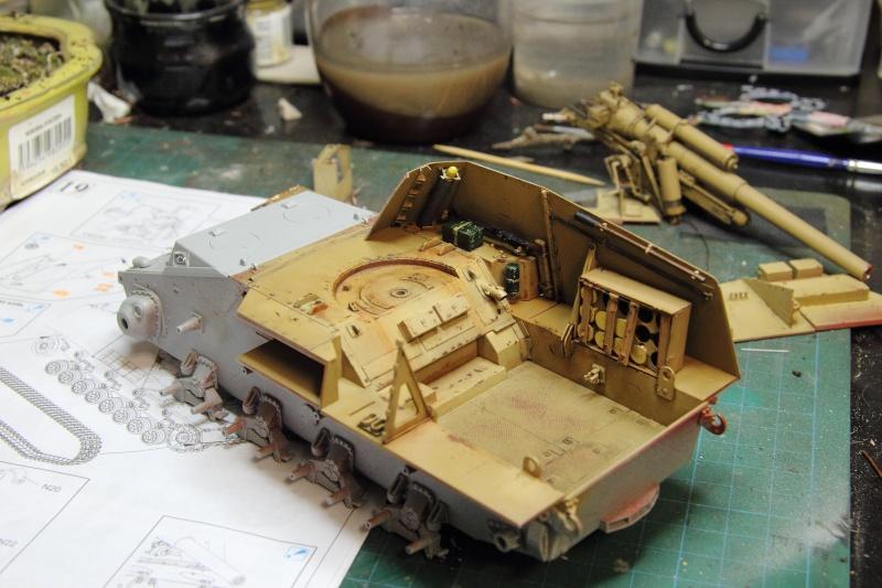 Sd.Kfz. 165 Hummel (1/35° Dragon + amélioration) [montage en cours] 16000810