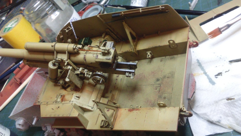 Sd.Kfz. 165 Hummel (1/35° Dragon + amélioration) [montage en cours] Dsc_0210