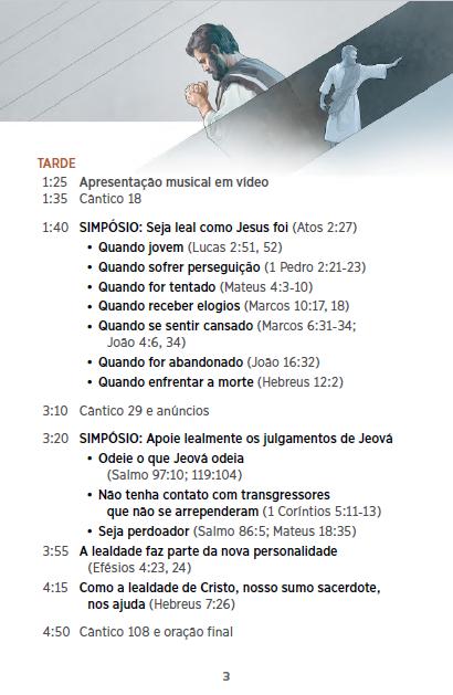 Congresso 2016 - CONTINUE LEAL A JEOVÁ P310