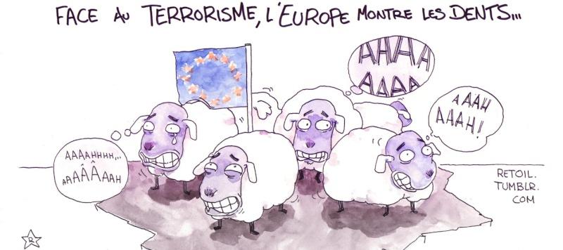 Terrorisme : nos gouvernants ne sont pas complices. Ils sont coupables !  Hier, c'était à qui annonçait une étape décisive dans la lutte contre le terrorisme. Patatras ! Inline10