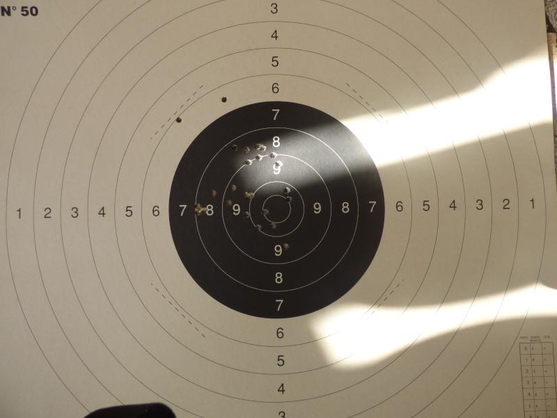 Carton au .222 à 100 mètres P1010011