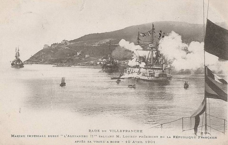VILLEFRANCHE sur MER Patrimoine historique et  maritime 1901_410